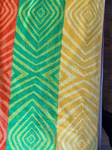 Kirkland Beach Towel 100% Egyptian Cotton, Vibrant Colors