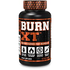 SUPPORT HEALTHY WEIGHT LOSS. Burn-XT is a thermogenic fat burner supplement for men and women. Each capsule contains natural, powerful thermo fat-burning ingredients. The synergistic formula helps burn fat, increase energy, preserve lean muscle, supp...