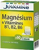 JUVAMINE - Magnésium + Vitamines B1,B2,B6-60 Comprimés