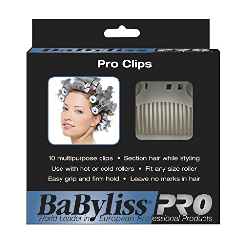 BaBylissPRO Clips for Rollers, Set of 10 clips