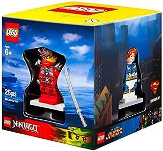 Lego Target Winter 2015 Minifigure Gift Set Promo Cube 5004077 - Lightning Lad + Sir Fangar + Kai Stone Armour + City Scuba Diver by LEGO
