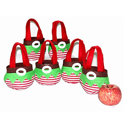 ryadia (TM) vacances Secret Santa Candy sacs chaussettes Elf Candy sacs sachets cadeau de Noël Fête Maison creative Gifts