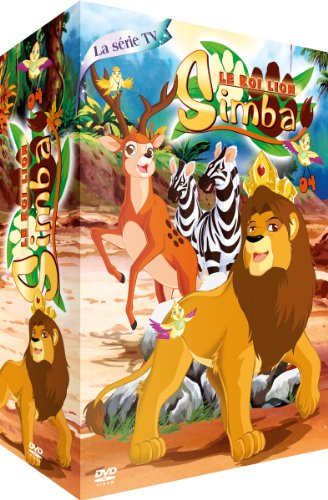 Le Roi Lion Simba-Partie 4-Coffret 4 DVD-La Série