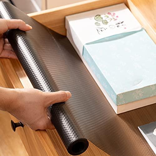 LTXDJ Forro de cajón, no adhesivo, impermeable, sin olor, antideslizante, para nevera, cajones, estantes, armarios, almacenamiento, cocina, 200 x 45 cm