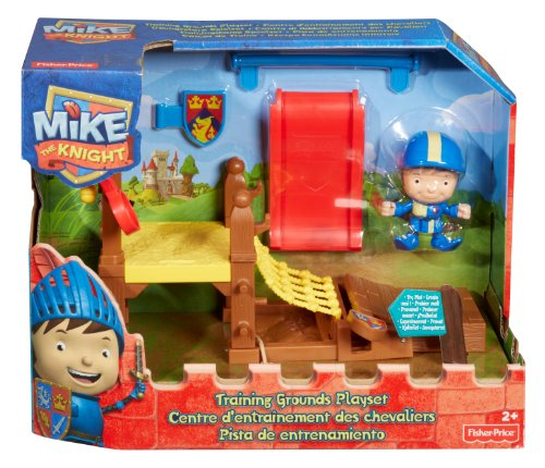 Fisher Price - BBY28 - Figurine - Mike - Centre d'entrainement Chevaliers