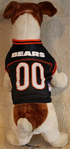 Pets First Chicago Bears Dog Jersey Licensed NFL (XXL)