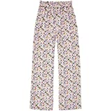 Pepe Jeans - Medea Pants - PL211375 - Pantaloni dritti fluidi fiori - da donna multicolore XS