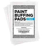 """[3 Pack] XL Paint Buffing Pads for Glitter Wall Paint - for use with Glitter Paint Additives (4"""" x 6"""") Made in the USA"""