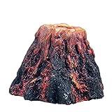 Ogquaton Premium Fish Tank Aquarium Rockery Volcan en Forma de Burbuja de Aire, Piedra decoración para Mascotas