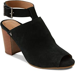 Women's Perk Kaia Heel - Ladies Peep Bootie Stacked Heels with Concealed Orthotic Support