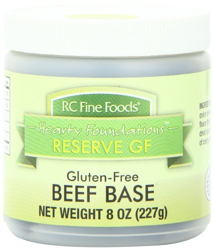 RC Fine Foods Hearty Foundations Reserve Gluten Free Soup Base, Beef, 8 Ounce