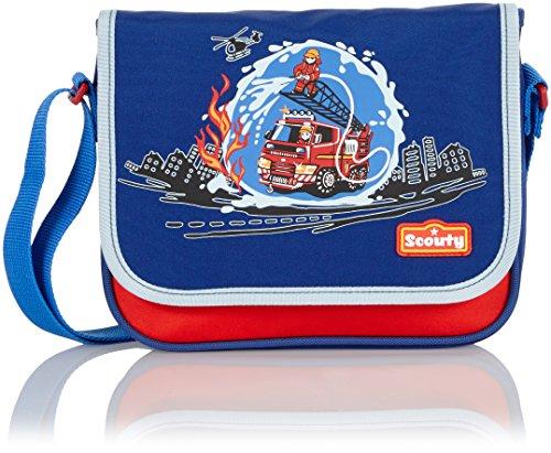 Scout Kinder-Sporttasche Umhänger Ii Feuerwehr 3 Liters Blau 20030054900