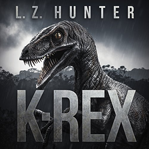 K-Rex audiobook cover art