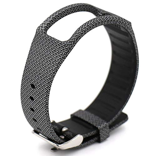 Elespoto Samsung Gear fit R350 Armband Silikon Sportarmband für Samsung Gear fit R350 (Cross)