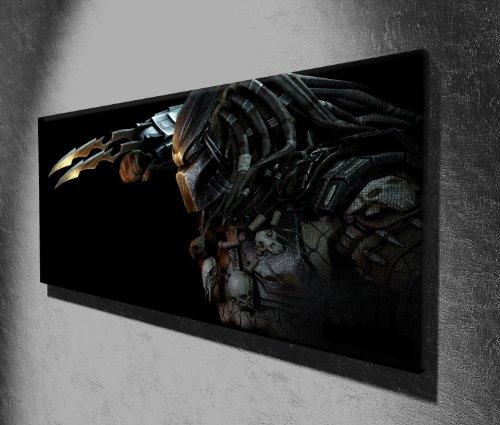 Bild auf Leinwand, Motiv Predator, 127 x 51cm, aufhängfertig