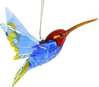 artexport Glass Hummingbird Figurine Hummingbird Pendant Glass Colibri Figurine Glass Bird Figurine Handmade
