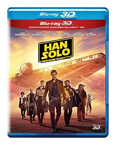 Solo: A Star Wars Story [2Blu-Ray]+[Blu-Ray 3D] [Region Free] (Deutsche Sprache. Deutsche Untertitel)