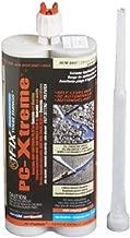 PC Products PC-Xtreme Polyurea Joint Filler, Concrete and Blacktop Sealant, 22oz Cartridge, Gray 96000