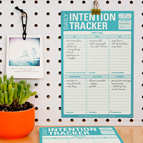 Knock Knock Daily Intention Tracker Note Pad (12270) Photo #2