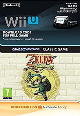 The Legend of Zelda: The Minish Cap | Wii U - Download Code