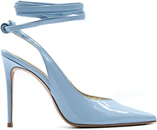 ALDO CASTAGNA Luxury Fashion Womens ELISE192100CELESTE Light Blue Pumps | Spring Summer 20