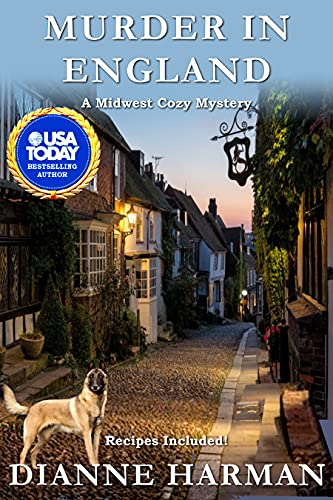 Murder in England: A Midwest Cozy Mystery by [Dianne Harman]