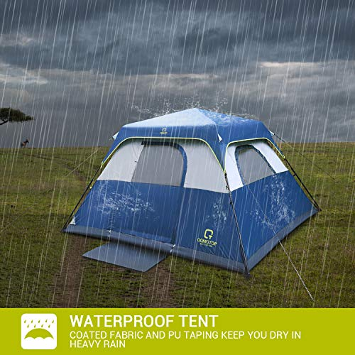 Best waterproof cabin tent for 4/6/8/10 person, 60s setup