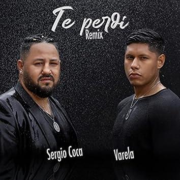 Te Perdí (Remix)