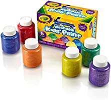 Crayola Glitter Paint Set, Multi-Colour, 59 ml, CY54-2400