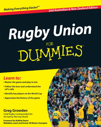 Rugby Union for Dummies (For Dummies (Lifestyles Paperback))