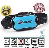 GoBarkley® El Mejor neumático Anti-Corteza, Cadena de Freno de Corteza. Ajustable para Perros pequeños, medianos y Grandes (de 5 a 50 kg), 7 Niveles, Apto para Animales.