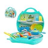 Küchen Spielzeug Set Küche Kochen Spielzeug Kleinkinder Rollenspiele Spielzeug für Partyspiele (34 teilig ) (Mehrweg)