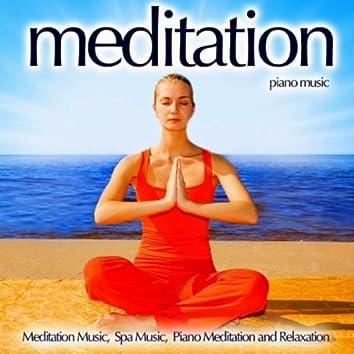 Meditation Piano Music - Meditation Music, Spa Music, Piano Meditation And Relaxation