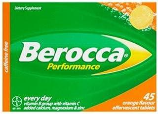 Berocca Performance Effervescent Orange 45pk [並行輸入品]