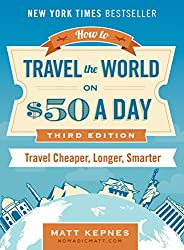 How to Travel the World on $50 a Day by Matt Kepnes - Useful gift ideas for travel lovers | Aliz's Wonderland #travel #giftideas #travelgift #christmasgift #birthdaygift