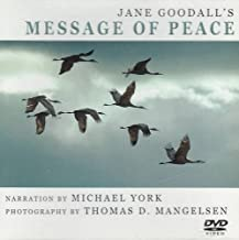Jane Goodall's Message of Peace (CD & DVD)