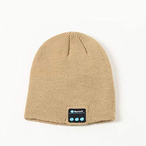 FYYTRL Bluetooth Beanie Stereo Speaker Hoofdtelefoon En Winter Knit Draadloze Muziek Oordopje voor Hardlopen, Skiën, Wandelen