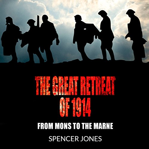 The Great Retreat of 1914 audiobook cover art