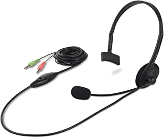 バッファロー 片耳ヘッドバンド式ヘッドセット ブラック BSHSH05BK