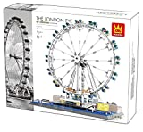 Wange 6215 Architektur The London Eye - Millennium Wheel 1528 Klemmbausteine