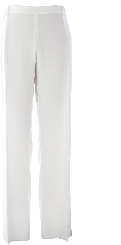 Marina Rinaldi Women's Retate Classical Trousers White