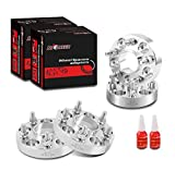 Richeer Wheel Spacers for G35 G37 ESQ 300ZX 250Z Altima Fairlady Leaf Maxima Murano Pathfinder Quest Teana, 4 PCS 1 inch Hubcentric 5x4.5(5x114.3mm) Wheel Spacer with 12x1.25 Studs, 66.1mm Center Bore