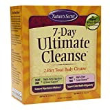 Nature's Secret 7 Day Ultimate Cleanse - 2 Part Total Body Cleanse Healthy Digestion & Elimination Support - Multi-Herb Detox Blend & Multi-Fiber Colon - Natural Rejuvenation- 72 Tablets (Pack of 2)
