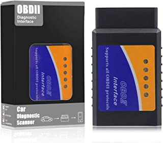 Xsentuals OBD2 Scanner Adapter (ELM327 Black OBD)