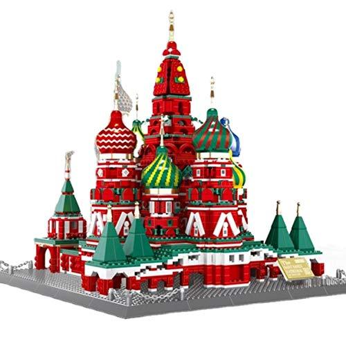 WANGE - St. Basilius Kathedrale Moskau aus Klemmbausteinen . W6213