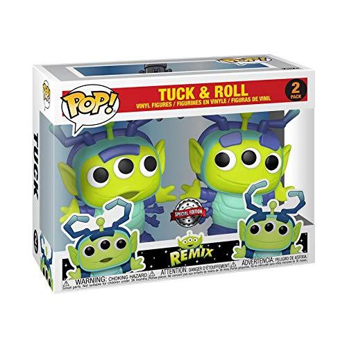 Funko Pop! Toy Story: Disney Alien Remix Tuck & Roll 2-Pack Exclusive Vinyl Figure