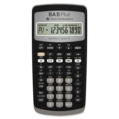 Texas Instruments TI Ba II Plus - Calculadora financiera
