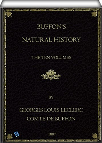 Buffon's Natural History (Volume 1 to 10 of 10): Containing a Therory of ther Earth, a General History of Man, of the Brute Creation, and of Vegetables, Mineral, &c. &c