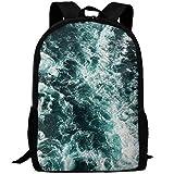 Adult Backpack School Bag Seismosaurus Dinosaur Travel Bags