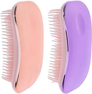 harayaa 2 stycken tovor hårborste utjämningsborste för lockigt tjockt hår